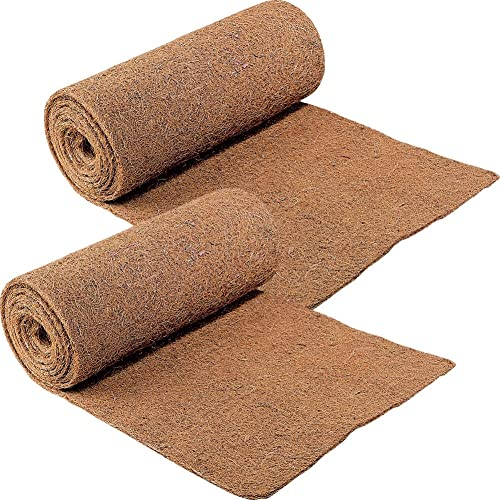 new arrival CloseoutZone Ice Carpet (Set of 2) Mats high quality Walkway Home discount Safety, brown, outlet sale