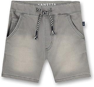 Sanetta Hose Aus Strickstoff Grau Jeans para Niños