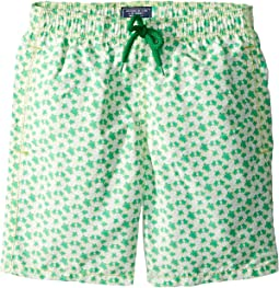 Vilebrequin Kids Micro Ronde Des Tortues Swim Trunk (Big Kids)