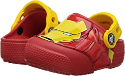 Crocs Kids FunLab Iron Man Lights Clog (Toddler/Little Kid)