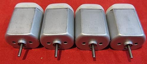 4 Pack - 10mm Round Shaft Central Door Lock Actuator Motor FC-280PC-22125, Spindle, Power Locking Repair Engine