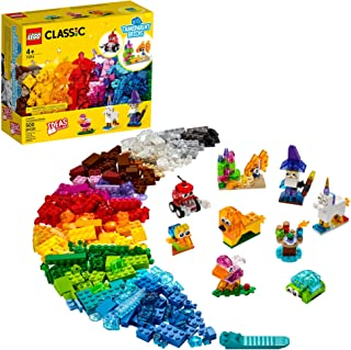 LEGO Classic Creative Transparent Bricks 11013 Building...