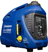 Westinghouse iGen1200 Super Quiet Portable Inverter Generator 1000 Rated 1200 Peak Watts,..