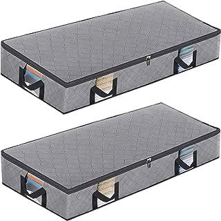 Best underbed storage baskets with lids Reviews