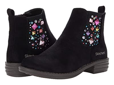 SKECHERS KIDS Mad Dash 302950L (Little Kid/Big Kid) (Black) Girls Shoes