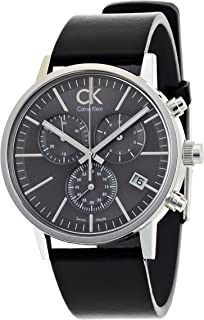 Calvin Klein Casual Watch For Men Analog Leather - K7627107