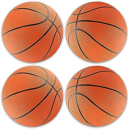 1 Rubber Basketball Kindergarten Small Basketball Game Ball Basketball Naliovker Childrens Basketball No