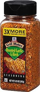 McCormick Grill Mates Roasted Garlic & Herb Seasoning, 9.25 Ounce
