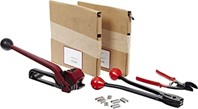 """Nifty Products SSK48 505 Piece Portable Steel Strapping Kit, 200' Length x 1/2"""" Width Coil"""