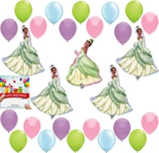 Princess and the Frog Tiana Balloon Wall Decoration Bundle