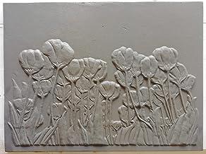 Dimensiones Lunaway Placa de chimenea en hierro fundido lisa 50x60 cm Grosor 0,8 cm