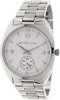 Michael Kors Callie Silver Dial Stainless Steel Unisex Watch MK3342