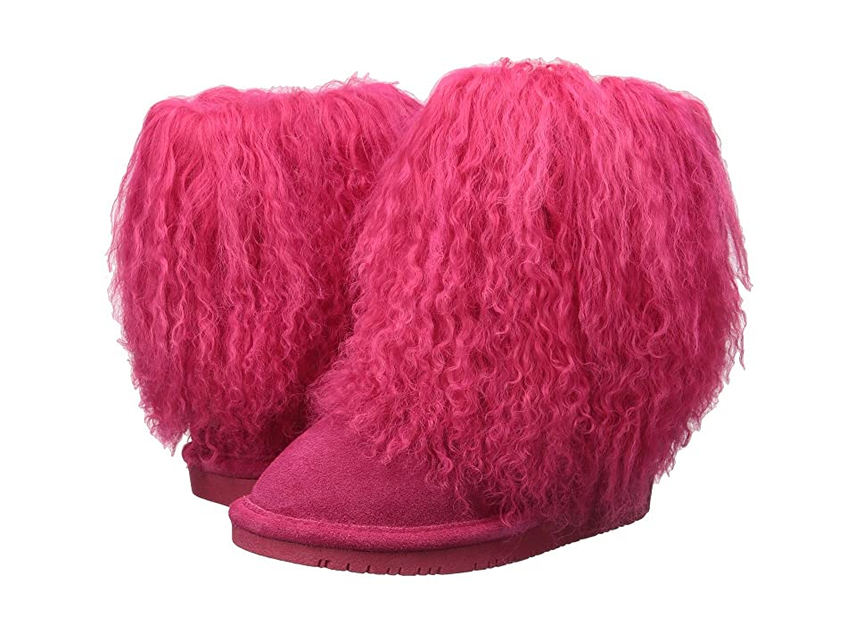 Bearpaw Kids Boo (Toddler/Little Kid) (Pink) Girls Shoes
