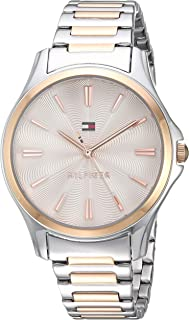 Tommy Hilfiger Women's Quartz Watch with Two-Tone-Stainless-Steel Strap, 14 (Model: 1781952)