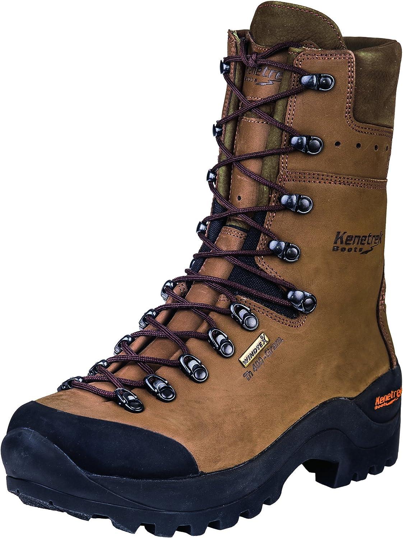 Kenetrek Mountain Guide NonInsulated Hiking Boot Brown