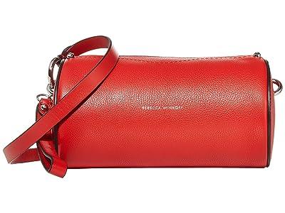 Rebecca Minkoff Barrel Crossbody (Tomato) Handbags