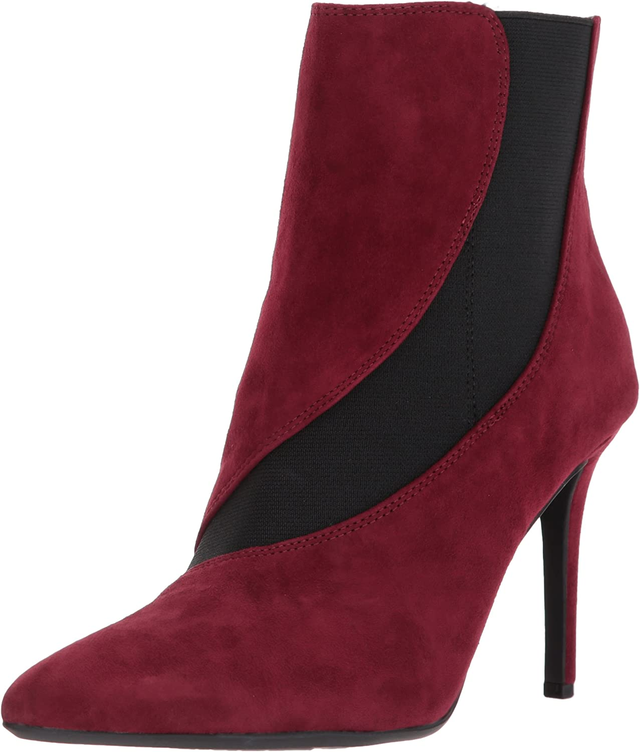 Nine West Womens FRAN9X Suede Mid Calf Boot