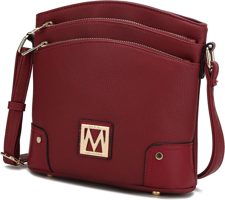 MKF Crossbody New life Bag for Women – OFFicial store PU Handbag Leather Pocketbook