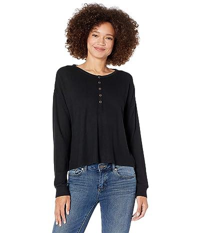 Volcom Lil Thermal Long Sleeve T-Shirt (Black) Women