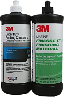 3M Marine Compound/Glaze Kit 5954/35928