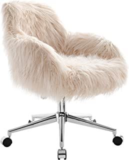 Remarkable Best Pink Fluffy Swivel Chair Of 2019 Top Rated Reviewed Evergreenethics Interior Chair Design Evergreenethicsorg