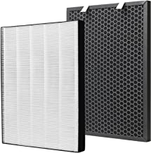 FFsign 2678 Replacement High Efficiency HEPA Filter + 2677 Actived Carbon Filter for Bissell Air220 Air320 Air Purifier, 1...