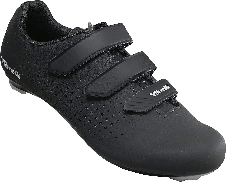 Vibrelli Men's Cycling Shoes - Road Peloton Max 50% OFF Max 54% OFF Fits Spin