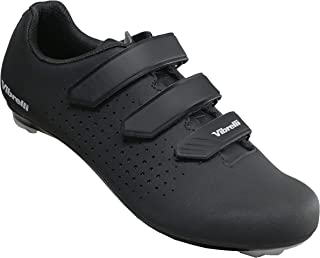 Men's Cycling Shoes - Road, Peloton, Spin Shoes - Fits All Cleats: Look, Shimano, Delta, Keo,...