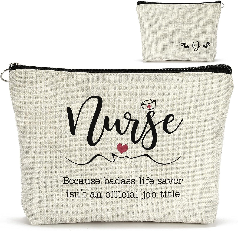 FLUFFYTREE Nurse Gifts for Women, Monogram
