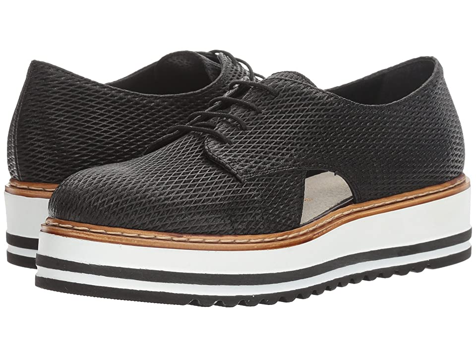 Summit by White Mountain Brody (Black Textured Leather) Women