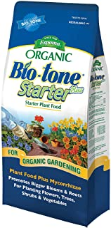 Espoma Bio-Tone Starter Plus Plant Food, Natural & Organic Fertilizer for All Plants, 4 lb, Pack of 1