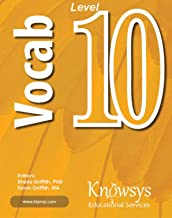 Knowsys Level 10 Vocabulary Flashcards (Knowsys Vocabulary Builder Series)