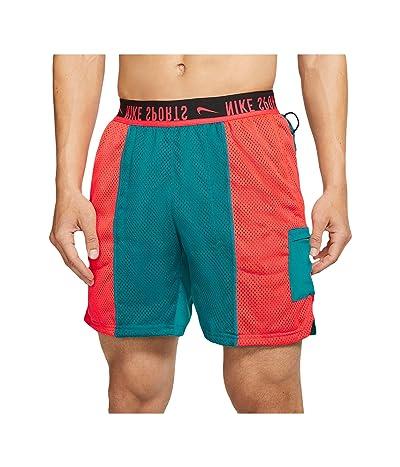 Nike Shorts Sport Clash (Bright Spruce/Laser Crimson/Black) Men