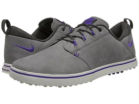 Womens Shoes Nike Golf Lunaradapt Light Ash/Hyper Grape/Ivory