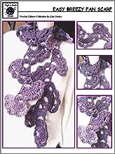 Easy Breezy Fan Scarf - Crochet Pattern #128 for Crochet Scarf