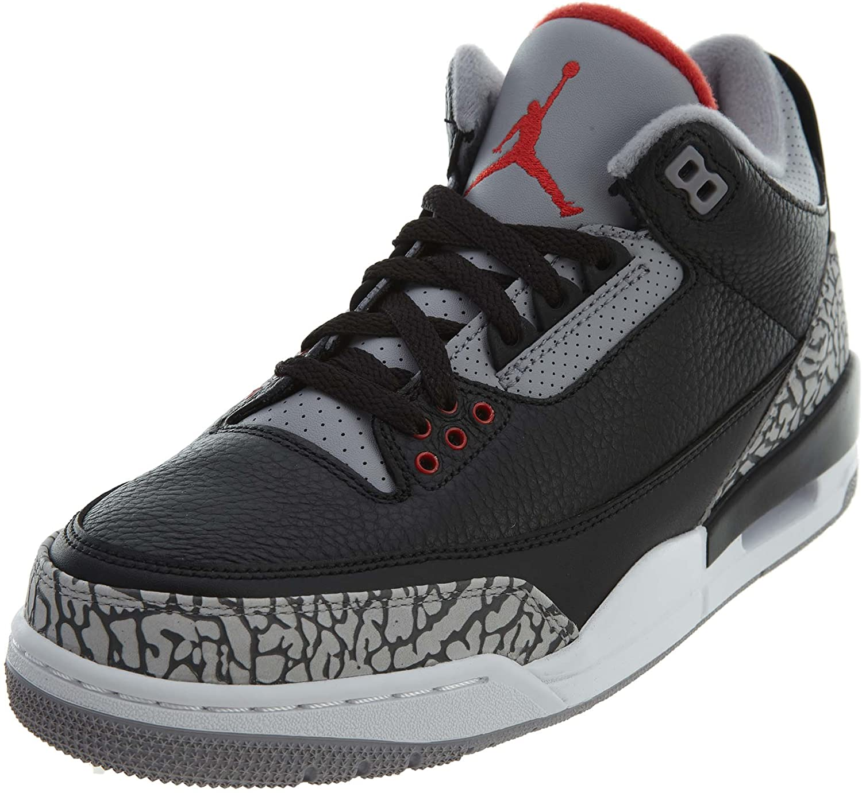 Amazon.com   Nike Men's Air Jordan 3 Retro OG Basketball Shoes (11 ...