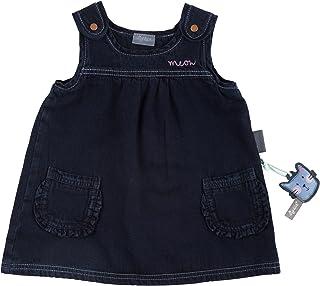 (9-12 Months, Blau (Denim Blue Black 271)) - Sigikid Baby Girls' Jeans Kleid Dress