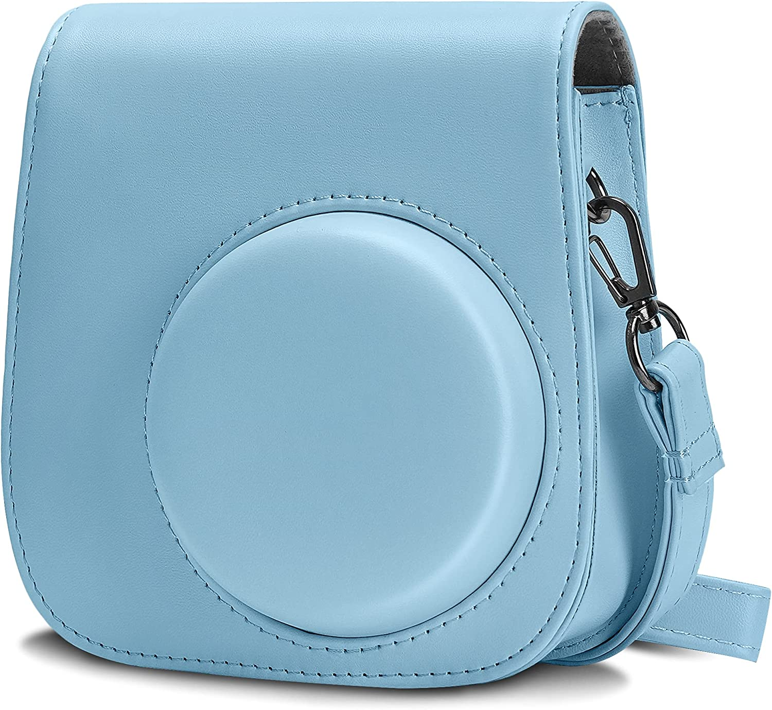 Blummy PU Leather Gifts Max 71% OFF Camera Case Fujifilm Instax Compatible Mi with