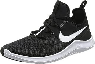 Nike Womens Free TR 8 Running Shoes Black/White 8 B(M) US