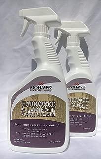 New Mohawk Hardwood and Laminate Floor Cleaner 32 fl oz Spray Bottle Pack of 2. …