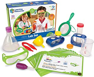 Learning Resources Primary Science Lab Activity Set, 12 Pieces, Ages 4+ (Renewed)