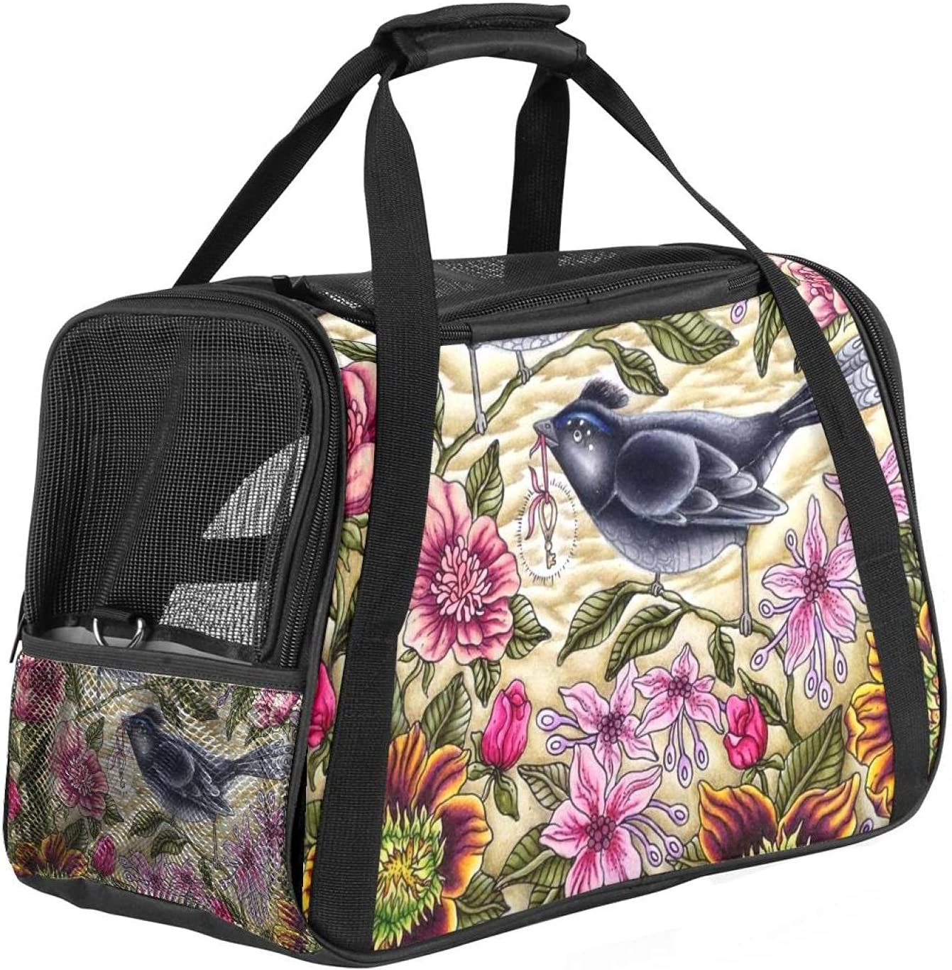 SHENGYIN Travel Cat Carriers Airline Approved S Colorado Springs Mall Store Pet Carrier Soft