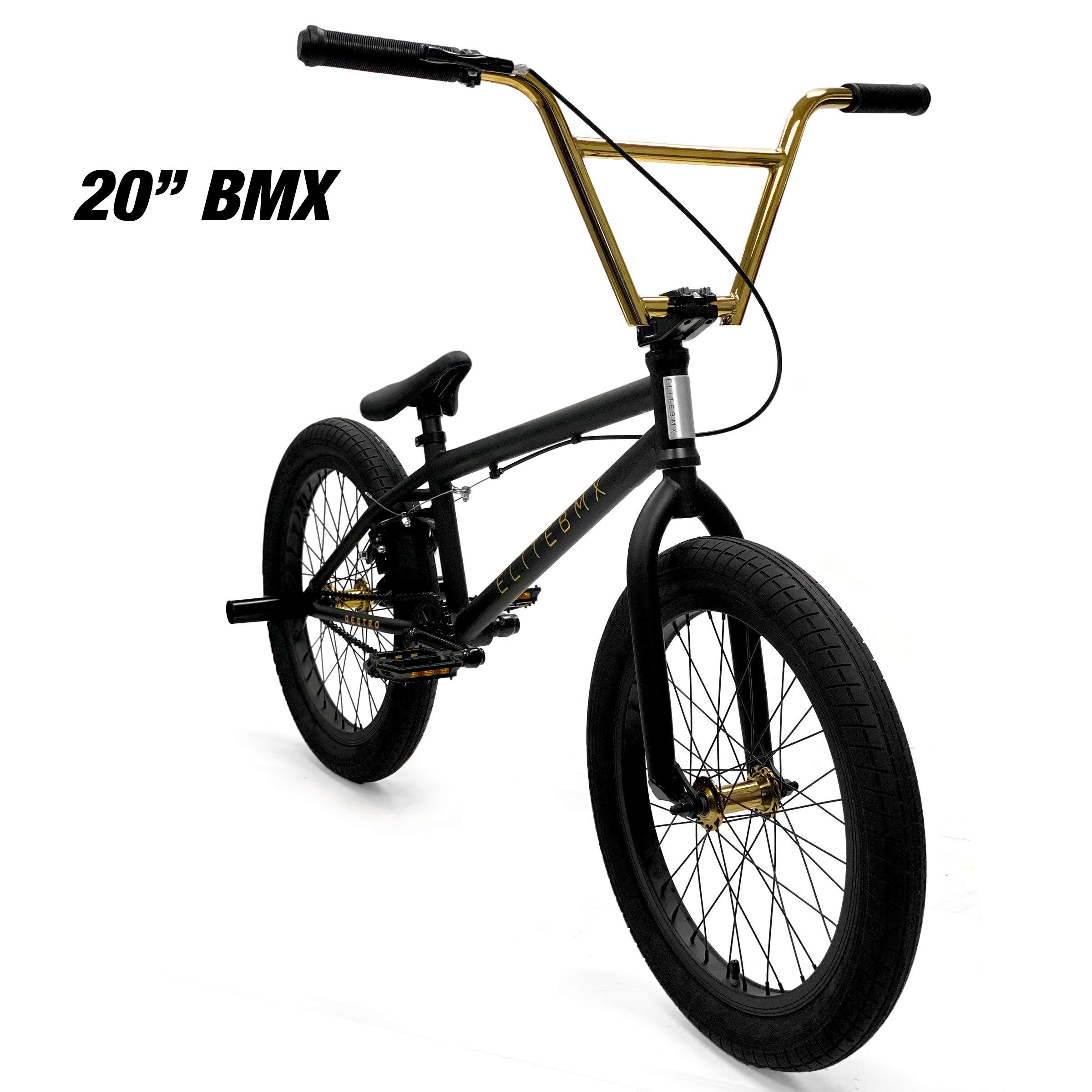 Bicicleta de Estilo Libre Elite BMX de 20 Pulgadas Modelo Destro ...