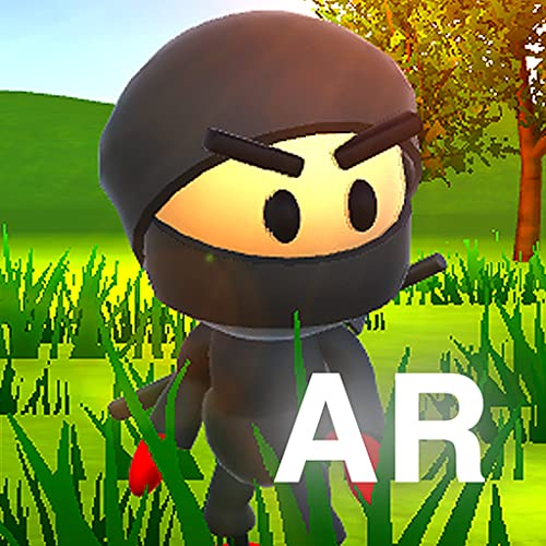 AR Ninja Kid vs Zombies Game of Augmented Reality - Interact with real world with Ar technology.