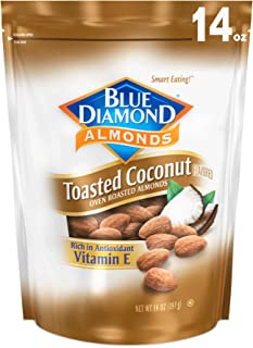 Blue Diamond Gluten Free Almonds, Toasted Coconut, 14 Ounce