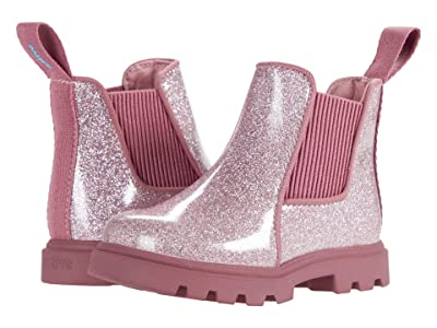 Native Kids Shoes Kensington Treklite Glitter (Toddler) (Pink Glitter/Temple Pink) Girl