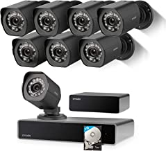 Zmodo Full HD 1080p Simplified PoE Security Camera System w/Repeater, 8 x 2.0 Megapixel IP Outdoor Surveillance Camera, 8CH HDMI NVR and 1TB Hard Drive (Renewed)