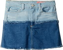 Color Block Denim Skirt (Big Kids)