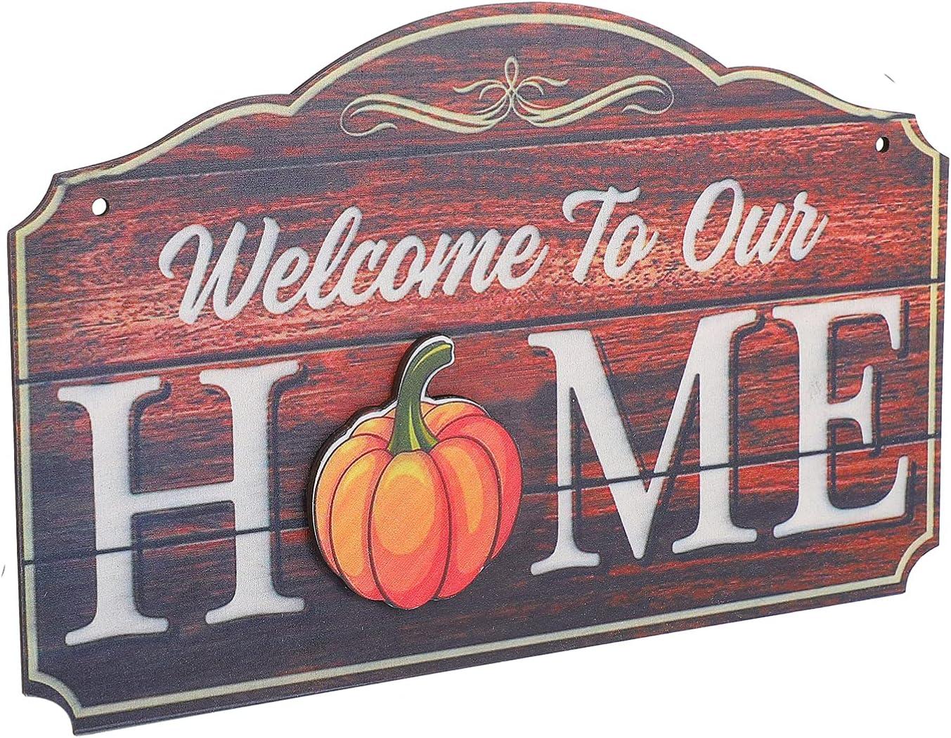 KESYOO Seasonal Fruit Welcome Sign Front Door Interchangea Porch Max 76% OFF Max 52% OFF