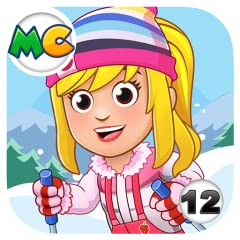 Exciting winter locations! Ski slopes, igloo hidden cave and more! NEW characters that you can play as and move around in your other My City games! COMPETE down the slopes for fame and fortune! AMAZING winter fashion, dress up your characters and tak...